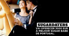 SugarDaters vai dar 3000€ à melhor SugarBabe Portuguesa