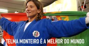 JUDO: Telma Monteiro é a melhor do mundo