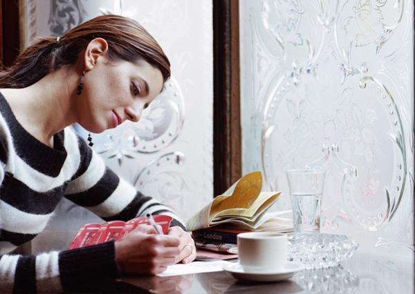 namorada escreve carta