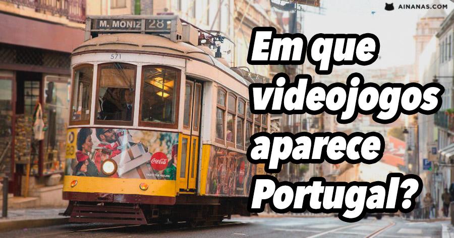 Em que videojogos aparece Portugal?